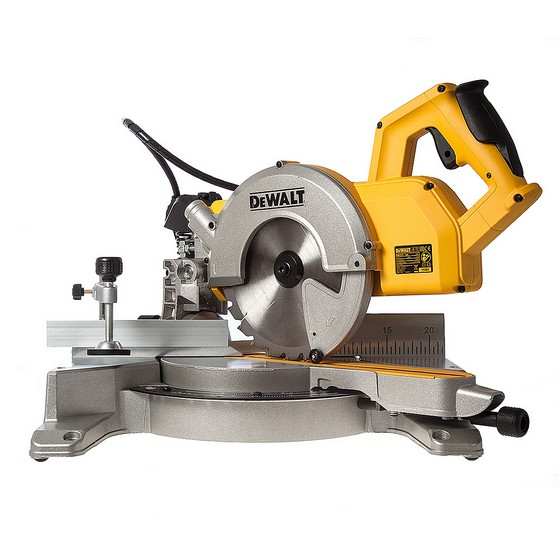 DEWALT DW777 216MM MITRE SAW 110V