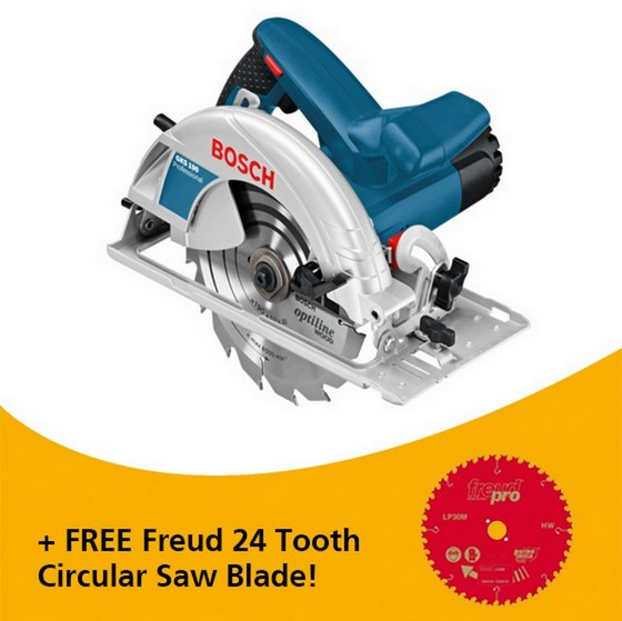 Image of BOSCH GKS190 190MM CIRCULAR SAW 240V