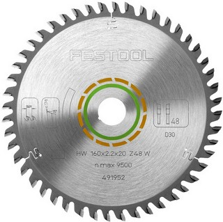 FESTOOL 488289 SAW BLADE 225X2,6X30 W48 TOOTH