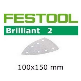 FESTOOL 492804 P40 DELTA ABRASIVE PADS PACK OF 10