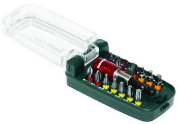 METABO SCREWDRIVER BIT SET (15 PIECE)