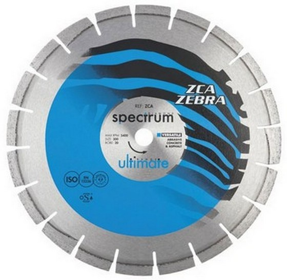 SPECTRUM 230MM ULTIMATE ZCA ZEBRA DIAMOND DISC