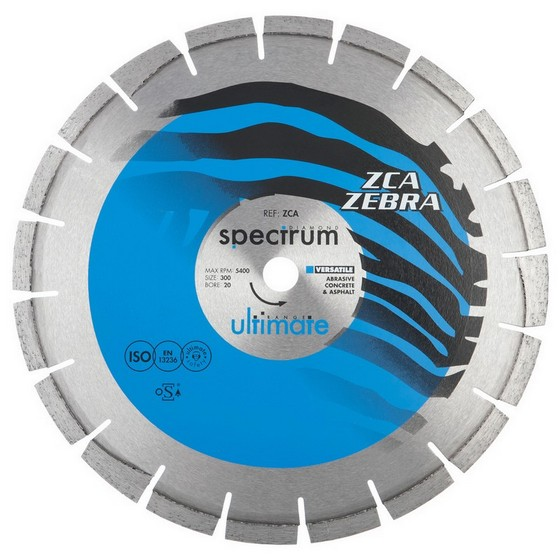 SPECTRUM 350MM ULTIMATE ZCA ZEBRA DIAMOND DISC