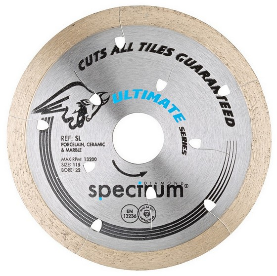 SPECTRUM 115MM SL PRO CERAMIC STONE DIAMOND DISC