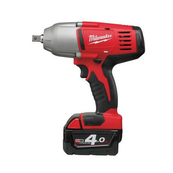 MILWAUKEE HD18HIWP-402C 18V IMPACT WRENCH 2 X 4.0ah RED Li-ion BATTERIES