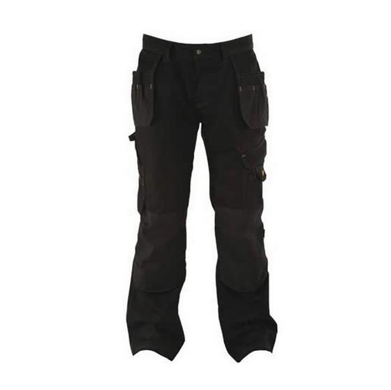 Image of Dewalt Dwc17001 Low Rise Trouser 36 Inch Waist 31 Inch Leg Black