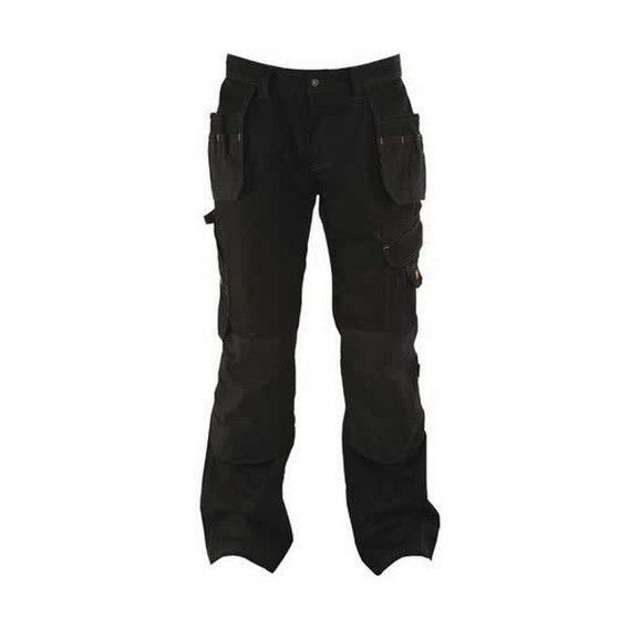 Image of Dewalt Dwc17001 Low Rise Trouser 38 Inch Waist 31 Inch Leg Black