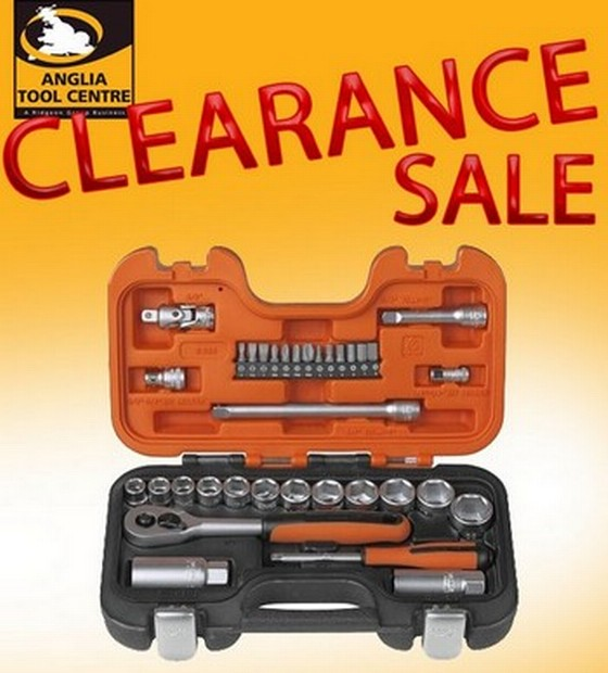 "BAHCO BAH330 GREY 34 PIECE 1/4"" & 3/8"" SOCKET SET"