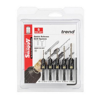 TREND SNAP/CS/SET SNAPPY COUNTERSINK DRILL BIT SET (PACK OF 5)