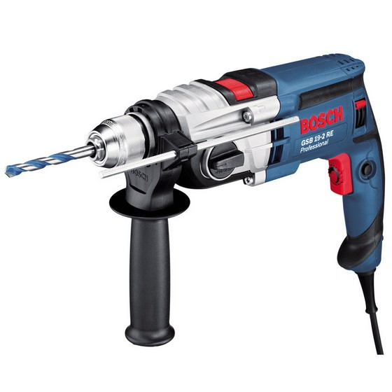 Image of BOSCH GSB192RE 13MM PERCUSSION HAMMER DRILL 110V