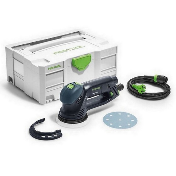 Image of FESTOOL 571784 RO125 FEQPLUS GB 125MM ECCENTRIC SANDER 240V SUPPLIED IN TLOC SYSTAINER CASE