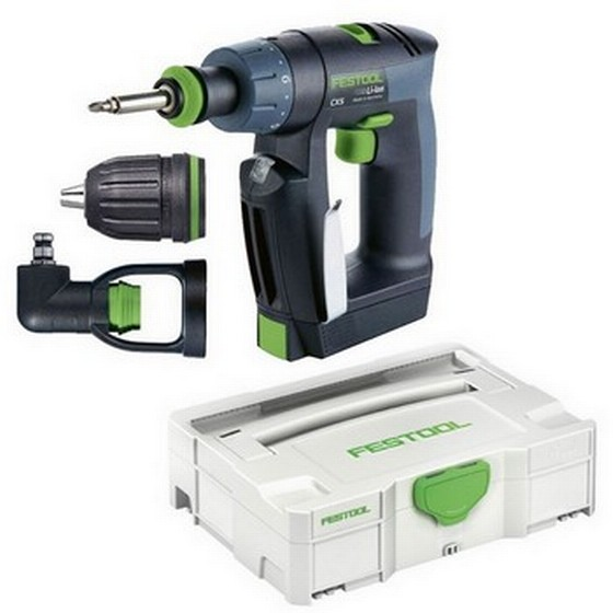 FESTOOL 564272 CXS Li 1.5 PLUS 10.8V Li-Ion DRILL DRIVER 2 x 1.5ah BATTERIES