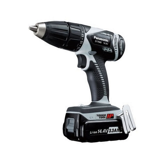 PANASONIC EY7940LZ2S31 14.4V COMBI HAMMER DRILL 2 X 3.1AH LI-ION BATTERIES