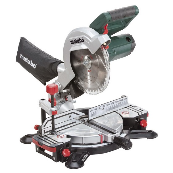 METABO KS216 216MM COMPOUND MITRE SAW WITH LASER 240V