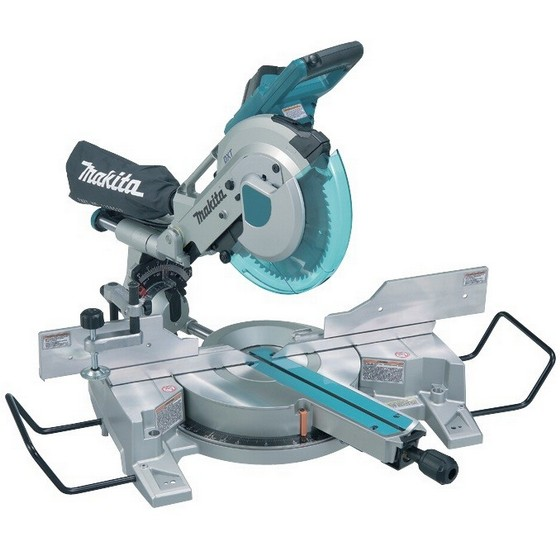 MAKITA LS1016 260MM DOUBLE BEVEL MITRE SAW 110V