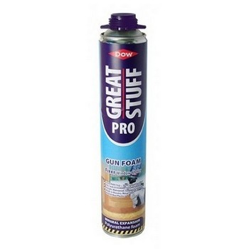 GEOCEL 6001123 DOW GREAT STUFF PRO POLYURETHANE GUN FOAM FIXER 750ML