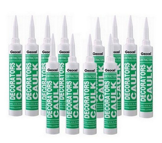 Dow Corning 2939801 Contractors Acrylic Caulk Filler Box of 12 (equates to £1.33 each)