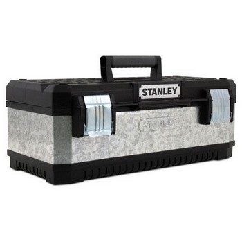 STANLEY STA195620 GALVANISED METAL / PLASTIC TOOL BOX 26IN