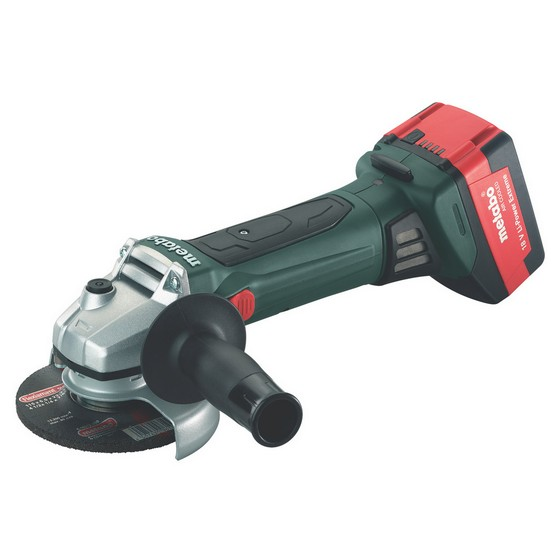 METABO W18LTX 18V 115/125MM ANGLE GRINDER 2 X 4.0AH LI-ION BATTERIES