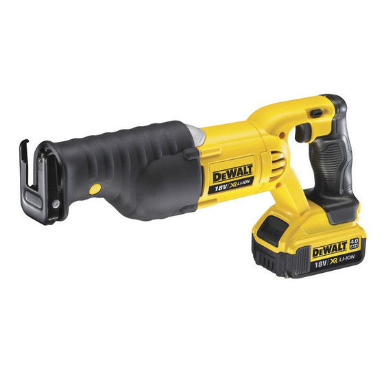 DEWALT DCS380M2 18V RECIPROCATING SAW 2 x 4.0AH LITHIUM-ION XR BATTERIES