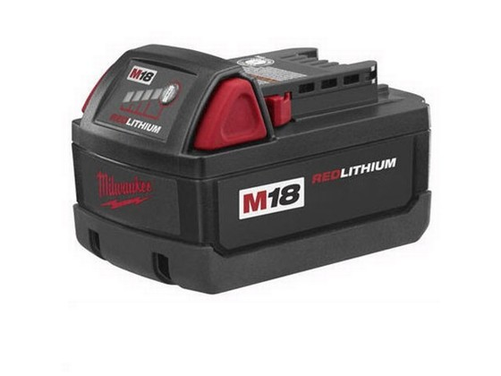 MILWAUKEE M18BX 18V 3.0AH RED LITHIUM-ION BATTERY