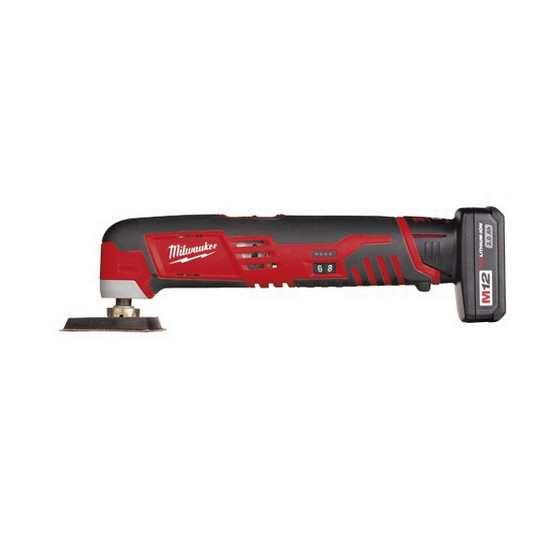 MILWAUKEE C12MT-32B 12v MULTI TOOL 2 X 3.0ah RED Li-ion  BATTERIES