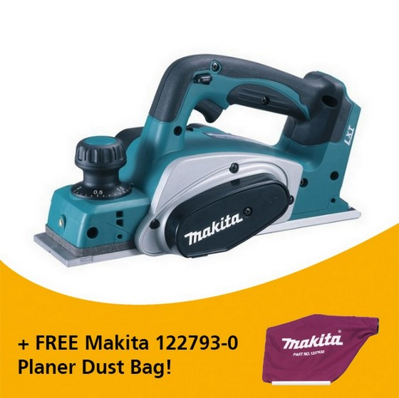 Image of MAKITA DKP180Z 18V PLANER BODY ONLY