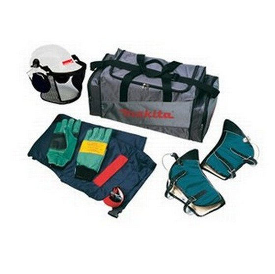MAKITA P-63731 CHAINSAW SAFETY KIT LARGE IN CARRY BAG