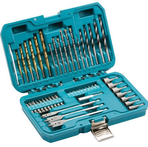 Image of MAKITA P90227 50 PIECE DRILLING AND SCREW DRIVING BIT SET WITH NUT DRIVERS
