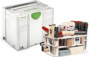 Image of FESTOOL 497658 SYSTAINER TLOC CASE WITH HAND TOOLS INSERT SYSHWZ