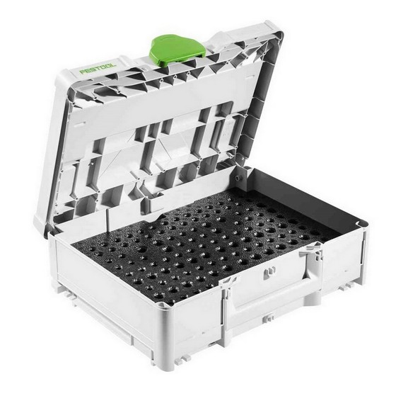 Image of FESTOOL 497695 SYSTAINER CASE WITH FOAM INSERT FOR CUTTERS SYSOF D8D12 CUTTERS NOT INCLUDED