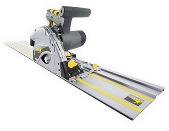 WOODSTAR DIVAR 55 240V PLUNGE SAW SYSTEM WITH 1.4M GUIDE RAIL