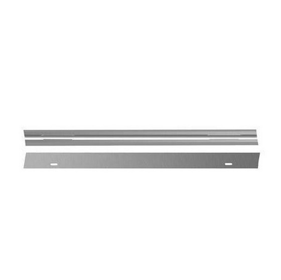 Image of DEWALT DT3901QZ 80MM TCT REVERSIBLE PLANER BLADES