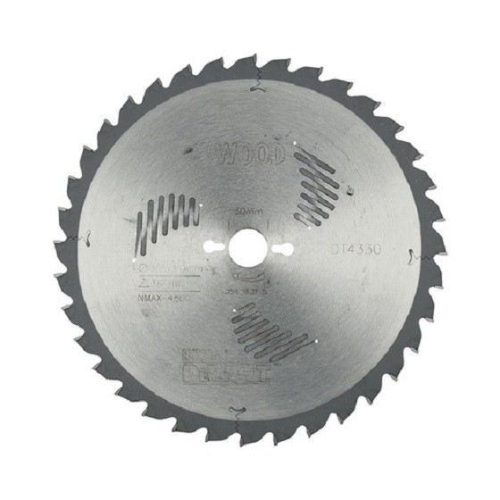 DEWALT DT4330-QZ SERIES 60 MITRE SAW BLADE 305mm X 30mm Bore X 36 Teeth