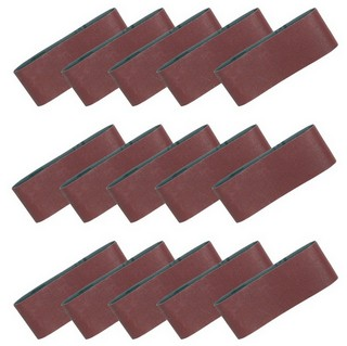 MAKITA SANDING PACK FOR 9911 BELT SANDER 76 x 457 (40, 60, 80 G)   1 PACK OF 5 OF EACH GRADE