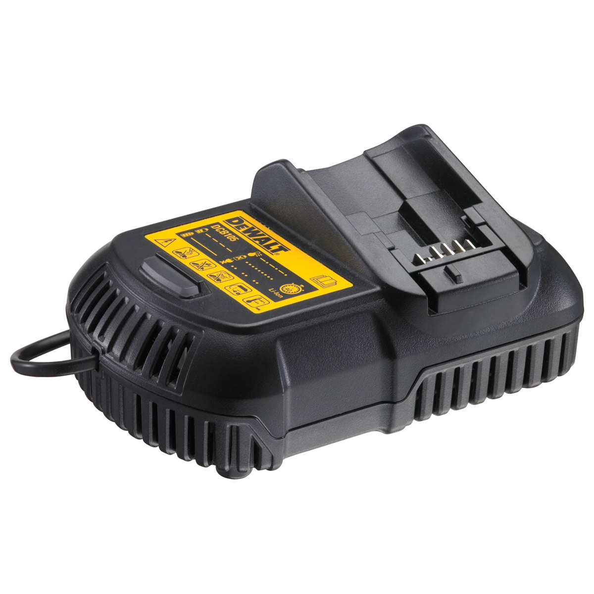 DEWALT DCB105-GB UNIVERSAL XR LITHIUM ION CHARGER FOR 10.8V 14.4V 18V BATTERIES