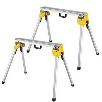 DEWALT DE7035-XJ HEAVY DUTY WORK SUPPORT STAND - SAW HORSE SET OF 2