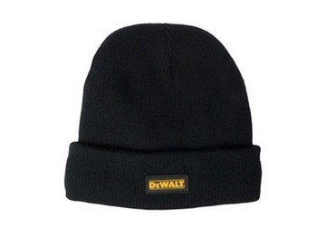 DEWALT DWC13001 BLACK KNITTED WOOL HAT