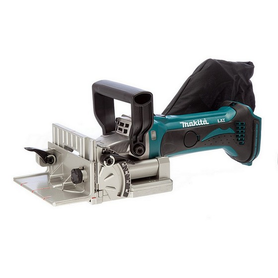 Image of MAKITA DPJ180Z 18V BISCUIT JOINTER BODY ONLY