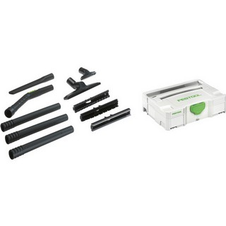 FESTOOL 497697 D27/D 36 K-RS-PLUS COMPACT CLEANING SET FOR FESTOOL DUST EXTRACTORS