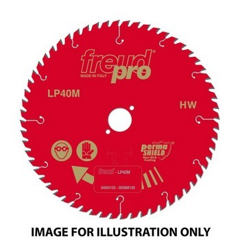 FREUD LP40M 013 PRO TCT CIRCULAR SAW SAW BLADE 190mm X 16mm X 40 TOOTH