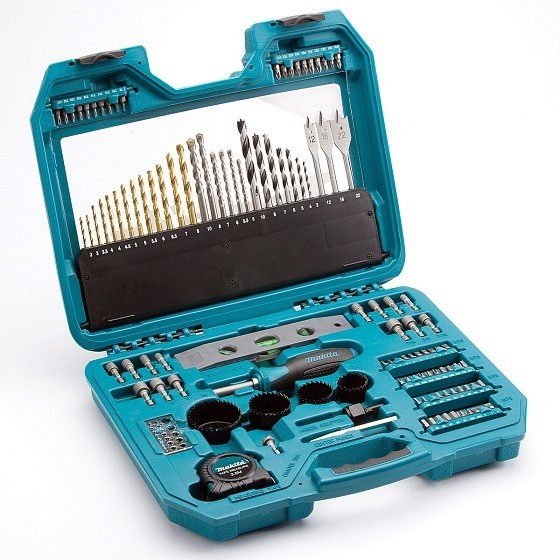 MAKITA P-90370 120 PIECE PRO DRILL, SCREWDRIVING AND NUT SPINNER ACCESSORY SET