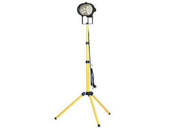 FAITHFULL FPPSL500CT POWER PLUS SINGLE 500 WATT SITELIGHT ADJUSTABLE STAND 240V