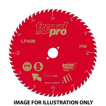 FREUD LP40M 025 PRO TCT CIRCULAR SAW SAW BLADE 250mm X 30mm X 60 TOOTH