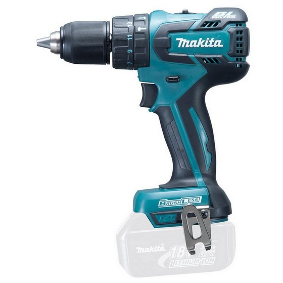 Image of MAKITA DHP459Z 18V BRUSHLESS 2 SPEED COMBI DRILL BODY ONLY