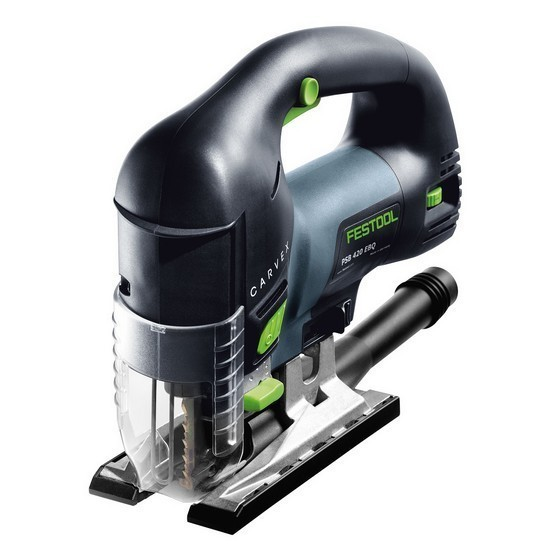 FESTOOL 561604 PSB 420 EBQ GB D HANDLE CARVEX JIGSAW 110V SUPPLIED IN T-LOC CASE