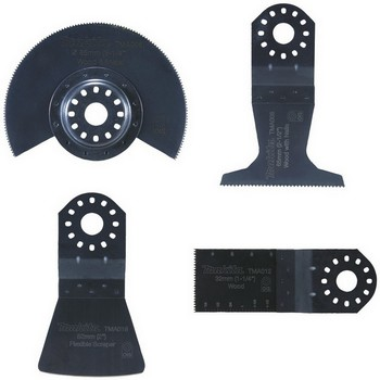 MAKITA B-30617 MULTI TOOL 4 PIECE FLOORING ACCESSORY SET