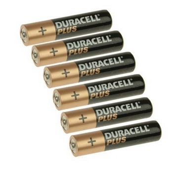 DURACELL XMS12BATTAAA AAA BATTERIES - MULTI PACK OF 6