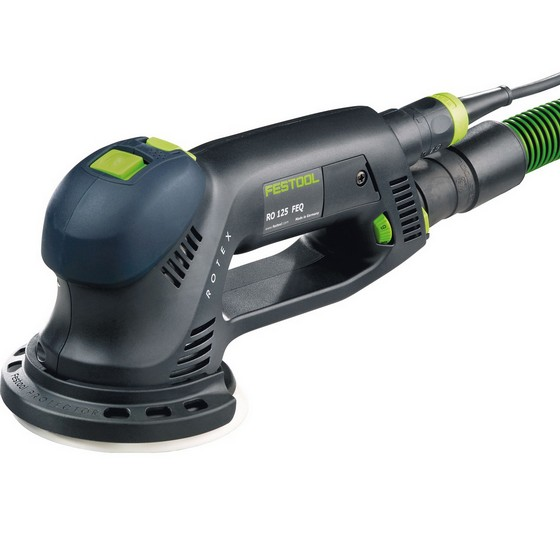 FESTOOL 571783 RO125 FEQ-PLUS GB 125MM ECCENTRIC SANDER 110V SUPPLIED IN T-LOC SYSTAINER CASE