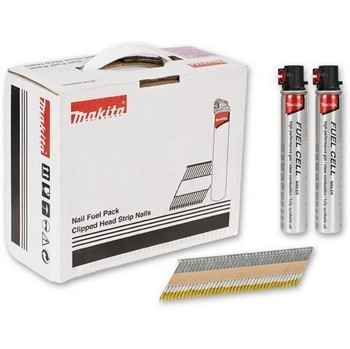 MAKITA P-77176 NAIL FUEL PACK FOR GN900SE 90MM x 3.1MM GALVANISED COATING 2000 NAILS
